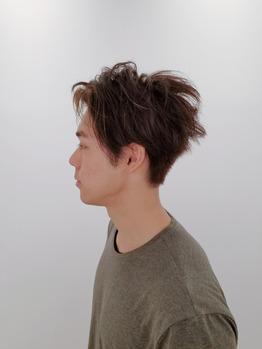 【メンズヘアスタイル】無造作ヘア☆