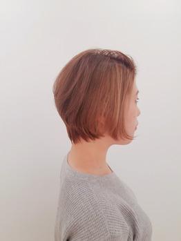 春の大人かわいいショート☆【銀座美容室】