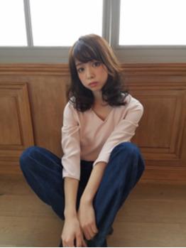 大人かわいいパーマ【銀座美容室】