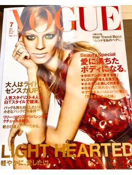 VOGUE JAPAN 7 月号 掲載