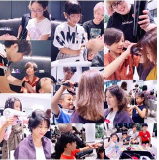 ~【kids:case】~小学生限定★美容師体験会開催